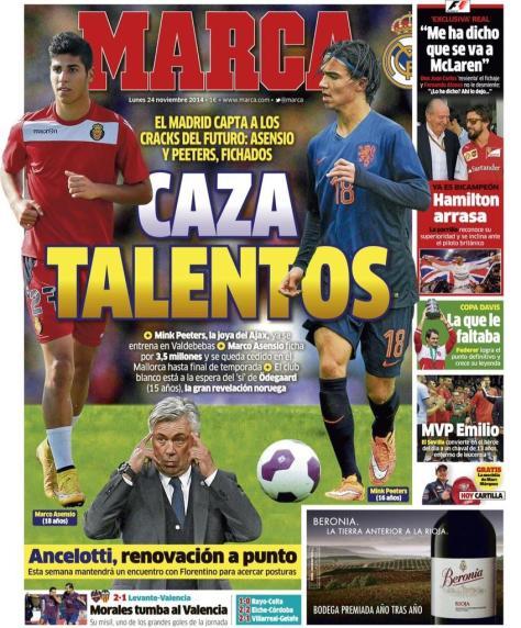 Real Madrid Set To Beat Man United & Arsenal To Martin