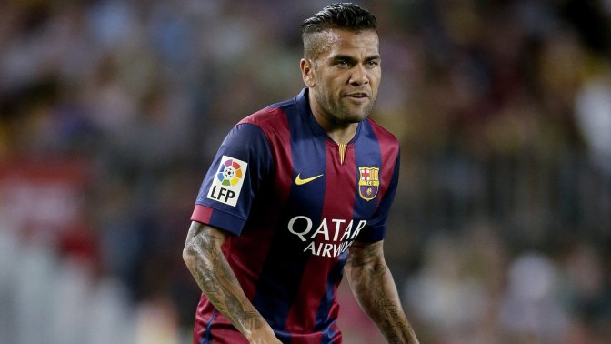 PSG sign Dani Alves