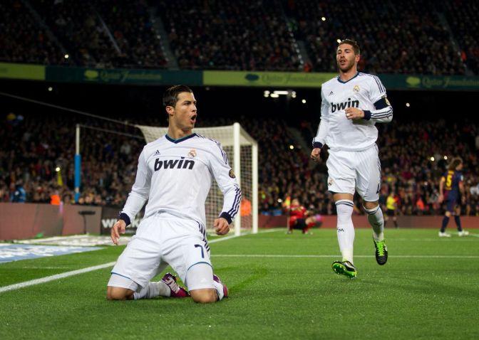 Cristiano Ronaldo at El Clásico